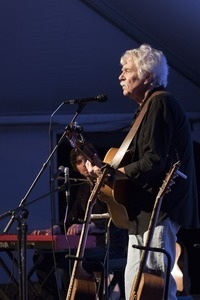 Tom Rush performing in concert at the Payomet Performing Arts Center