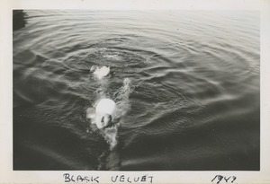 Bernice Kahn swimming