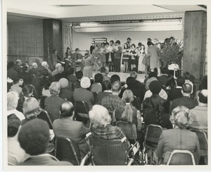 Audience and client performers in holiday play