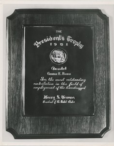 The 1951 president's trophy