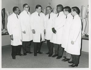 The 1965 Prosthetics and Orthotics training graduation ceremony