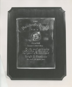 The 1953 President's Trophy