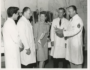 The 1964 Prosthetics and Orthotics training graduation ceremony