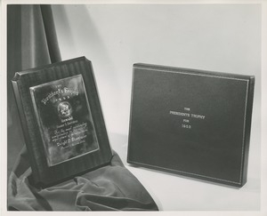 The 1953 President's Trophy and its box