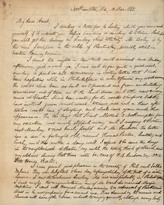 Letter from Benjamin Smith Lyman to Susan Lesley