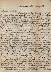 Letter from Benjamin Smith Lyman to J. Lesley Lesley