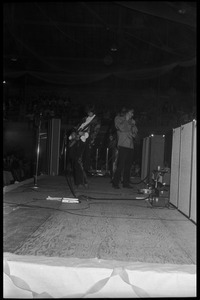 The Yardbirds in concert, side view, Curry Hicks Cage, UMass Amherst