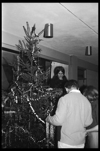 Christmas Tree trimming, Coolidge Tower 5L
