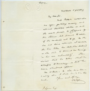 Letter from C. H. Ogden to unidentified correspondent