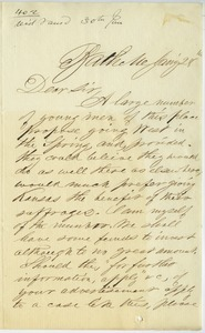 Letter from A. W. Smith to Joseph Lyman