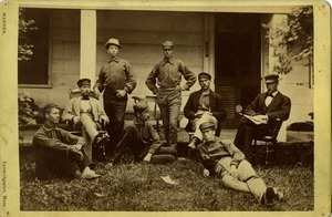 D. A. Sargent and geological survey team