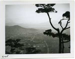Seoul from hilltop