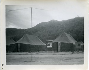 Three tents of the 78th PMCD