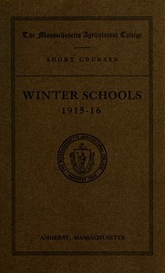 Winter schools 1915-16. M.A.C. Bulletin vol. 7, no. 6