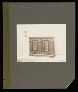 """""""Sideboards: Italian, Elizabethan, Jacobean, William & Mary, Queen Anne, Empire, Miscellaneous 27A"""""""