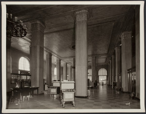 Interior view of the Boston Consolidated Gas Company, showroom, 100 Arlington St., Boston, Mass., undated