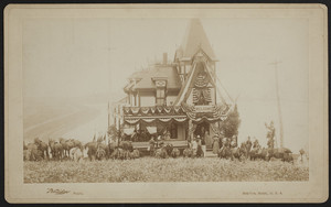 Exterior view of Mr. Wadworth's house at Cottage Hill, Winthrop, Massachusetts