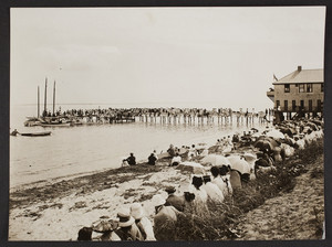 Beach and Cottage Club, north side, Falmouth Heights, Mass.