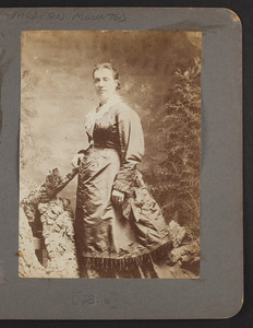 Unidentified woman from the Tidmarsh family, Sherborn, Mass., undated