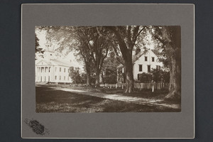 Exterior view of the Congregational Church, Cheshire, Conn., undated