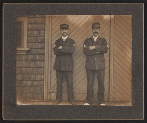 Members of the Orleans Life-Saving Station, Orleans, Mass.