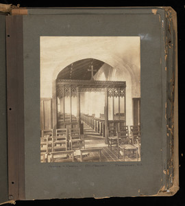 """Miscellaneous Church Furniture: Organs, Tablets, Fonts, Font Covers, Hymn, Miscellaneous 28B"""