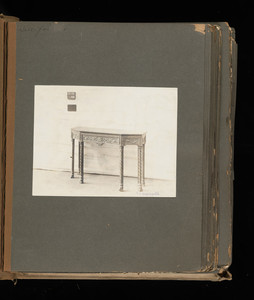 """""""Library Tables: Console, Side Drawer 40C"""""""