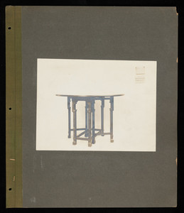 """Miscellaneous Tables: Gate Legs Large/Small, Sewing Tables, Tea Tables, Nest Tables, Telephone Tables, Odd Tables 40E1"""