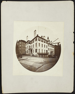 Exterior view of G.A. Gardener's House of Beacon St. & Somerset Club House, Boston, Mass., undated
