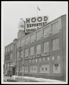 Exterior view of Hood Milk Plant, Rutherford Avenue, Charlestown, Mass.