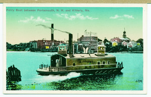 Ferry boat between Portsmouth, N.H. and Kittery, Me.