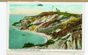 Cliffs, south side, Gay Head, Mass.