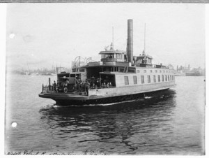 Noddle Island Ferry, East Boston, Mass., 1911