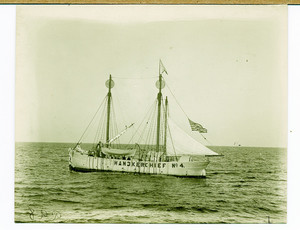 Lightship Handkerchief at sea, location unknown, undated