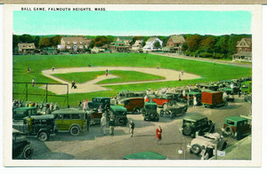Ball game, Falmouth Heights, Massachusetts