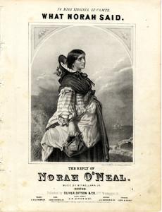 What Norah said : the reply of Norah O'Neal
