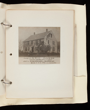Album 1, Book 6: Massachsuetts Historic Homes and Landmarks