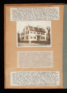 "Album 12: ""Old Newport Houses"" by Marie Josephine Gale illustrated with photographs by Elizabeth Covell"
