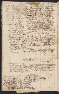 Account book of Silas Casey, merchant and farmer, East Greenwich, R.I.