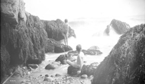 Bathing place, Manchester, Mass., 1886