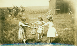 Children playing, Deerfield, Mass., undated