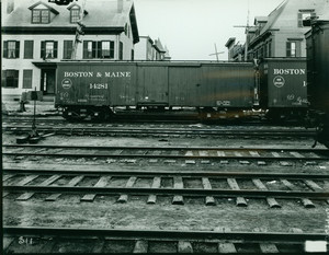 Boston & Maine railroad car No. 14281, East Cambridge, Mass.