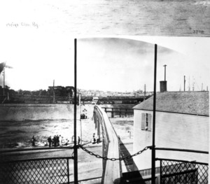 Meigs Elevated Railroad from car platform