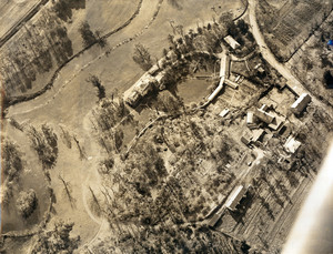 Aerial view of the Lyman Estate