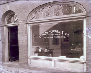 Howard Jewelers & Silversmiths store interior