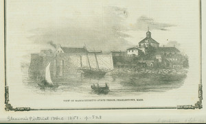 View of Massachusetts State Prison, Charlestown, Mass.