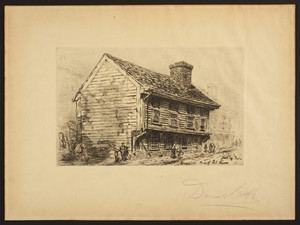 Home of Paul Revere, North Sq. Boston, Mass., undated