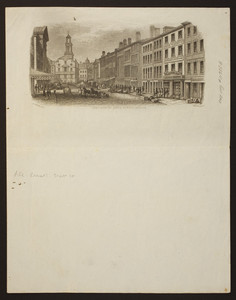 East view of State Street, Boston