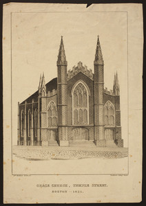 Grace Church, Temple Street, Boston, 1835