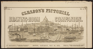Gleason's Pictorial -- Weekly Drawing-room Companion mastheads